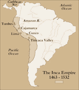 Spanish Wars - Inca empire